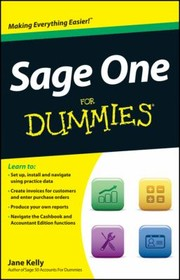 Cover of: Sage One For Dummies