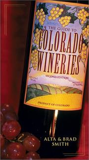 Cover of: Guide to Colorado Wineries