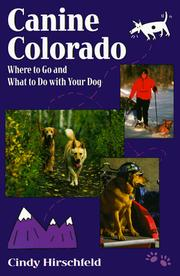 Cover of: Canine Colorado | Cindy Hirschfeld