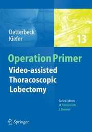 Cover of: Video  Assisted Thoracoscopic Lobectomy