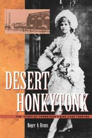 Cover of: DESERT HONKYTONK | Roger A. Bruns