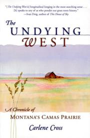 Cover of: The undying West