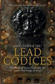 Cover of: The Discovering the Lead Codices