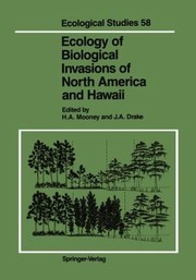 Cover of: Ecology of Biological Invasions of North America and Hawaii
