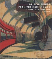 Cover of: British Prints from the Machine Age
