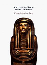 Cover of: Mistress of the House, Mistress of Heaven | Anne K. Capel