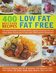 Cover of: 400 BestEver Recipes Low Fat Fat Free