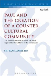 Cover of: Paul and the Creation of a CounterCultural Community