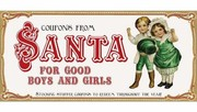 Cover of: Coupons from Santa for Good Boys and Girls