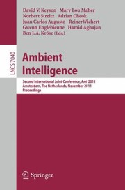 Cover of: Ambient Intelligence