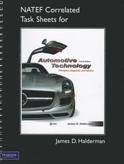 Cover of: Natef Correlated Task Sheets For Automotive Technology