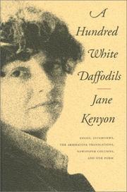 Cover of: Hundred White Daffodils | Jane Kenyon