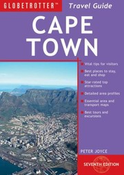 Cover of: Globetrotter Cape Town Travel Guide