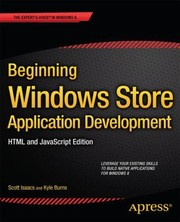 Cover of: Beginning Windows Store Application Development