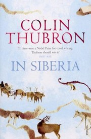 Cover of: In Siberia Colin Thubron