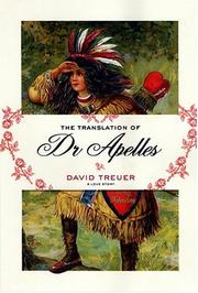 Cover of: The translation of Dr Apelles