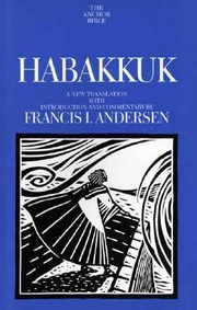 Cover of: Habakkuk