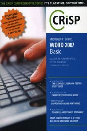 Cover of: Word 2007 Basic