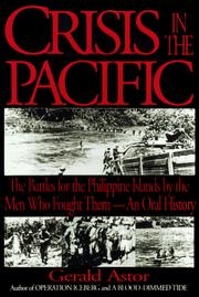 Cover of: Crisis in the Pacific