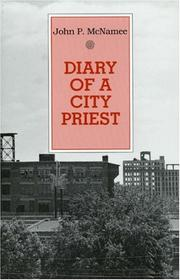Cover of: Diary of a city priest
