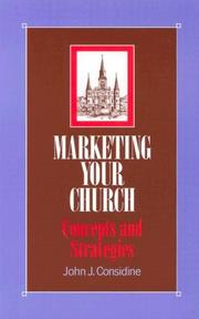 Cover of: Marketing your church