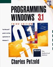 Cover of: Programming Windows 3.1