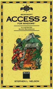 Cover of: Field guide to Microsoft Access 2