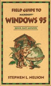 Cover of: Field guide to Microsoft Windows 95