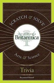 Cover of: Scratch Solve Encyclopedia Britannica Arts Science Trivia