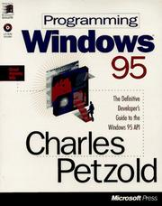 Cover of: Programming Windows 95