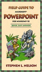 Cover of: Field guide to Microsoft PowerPoint for Windows 95