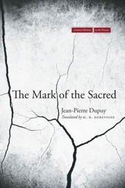 Cover of: The Mark Of The Sacred