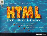 Cover of: HTML in action