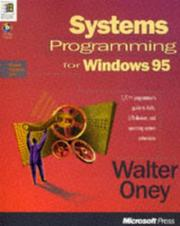 Cover of: Systems programming for Windows 95