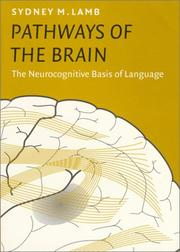 Cover of: Pathways of the Brain | Sydney M. Lamb