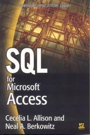 Cover of: SQL for Microsoft Access (Wordware Applications Library)