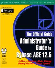 Cover of: Administrator