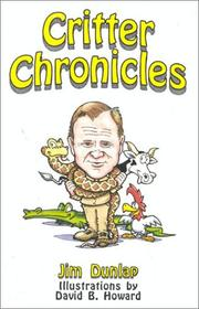Cover of: Critter chronicles