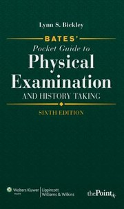 Cover of: Bates Pocket Guide to Physical Examination and History Taking International Edition