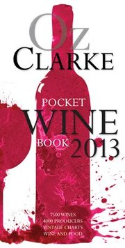Cover of: Oz Clarke Pocket Wine Book 2013