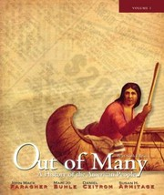 Cover of: Out of Many Volume One