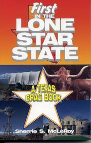 Cover of: First Lone Star State