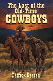 Cover of: The last of the old-time cowboys