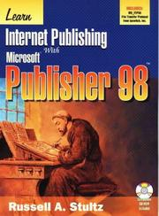 Cover of: Learn Internet publishing with Microsoft Publisher 98 | Russell Allen Stultz