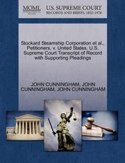 Cover of: Stockard Steamship Corporation Et Al Petitioners