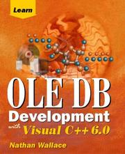 Cover of: Learn OLE DB development with Visual C++ 6.0