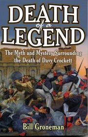 Cover of: Death of a legend