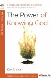 Cover of: The Power of Knowing God