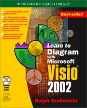Cover of: Learn to Diagram with Visio 2002