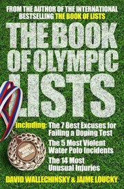 Cover of: The Book Of Olympic Lists |